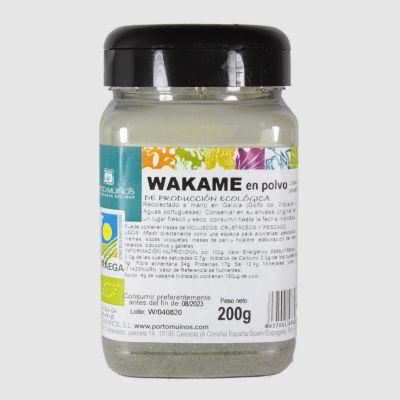 Wakame en polvo pet 200g