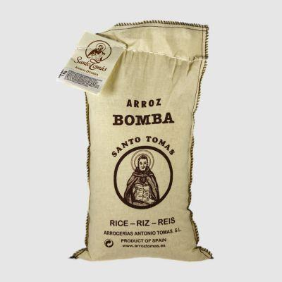 Arroz Bomba | Santo Tomas 1kg