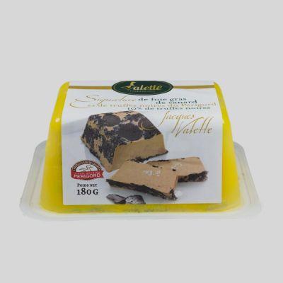 Foie Gras con trufa negra 180g